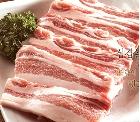 [꽃돼지공동구매]벌침맞은우리돼지플러스 무항생제돼지고기 삼겹살1kg(구이용)