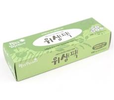 '행밥' 친환경 위생팩(중) 100매