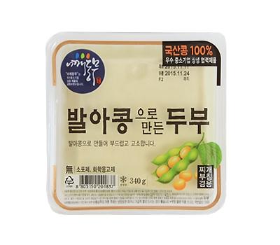 국산 발아콩두부(340g)