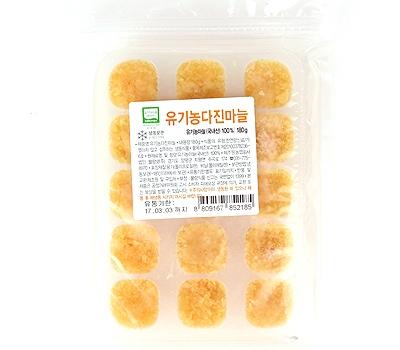 유기농 다진마늘(180g)
