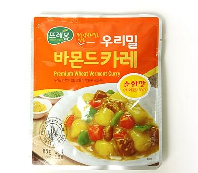 우리밀 바몬드카레(85g × 2개)