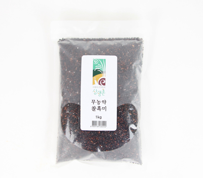 무농약 찰흑미(1kg)