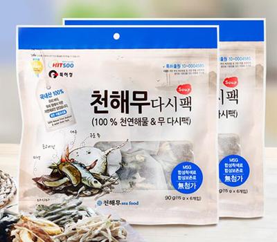 천해무 다시팩(15gx6개)