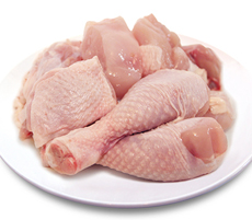 유기농닭 (볶음용800g)