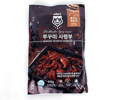 쭈꾸미 사령부 (불타는 매운맛, 350g)