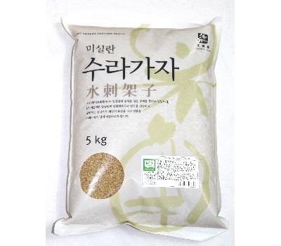 유기농 현미 5Kg : 2017년산