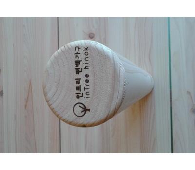 [인트리] 편백 통원목 마사지봉(요가봉,안마봉,명상봉) (500*70mm)
