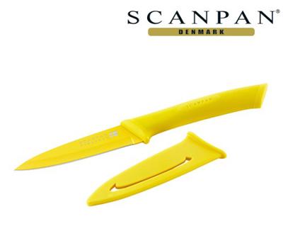 [아울렛 스크래치 상품] 덴마크 스캔팬 스펙트럼 나이프 9cm (옐로우)