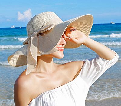 비치 플로피햇 / 여름 바캉스 해변 모자