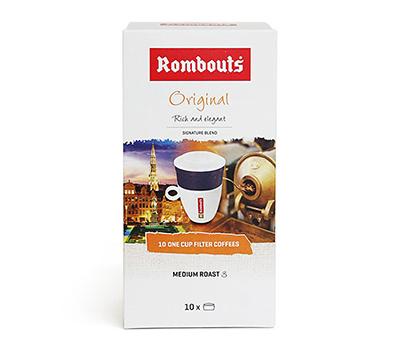 롬바우츠 오리지널 - 벨기에왕실선택/손님접대용/물만부어마시는간편한커피