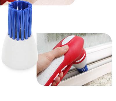 독일 쿠비녹스 욕실청소기(본체+브러쉬4개)(건전지 미포함)