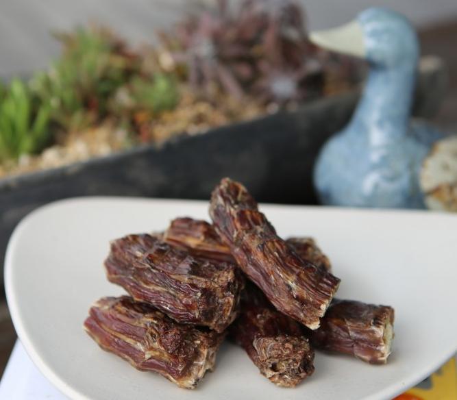 토종유황오리목뼈로 만든 애완용 수제간식 500g